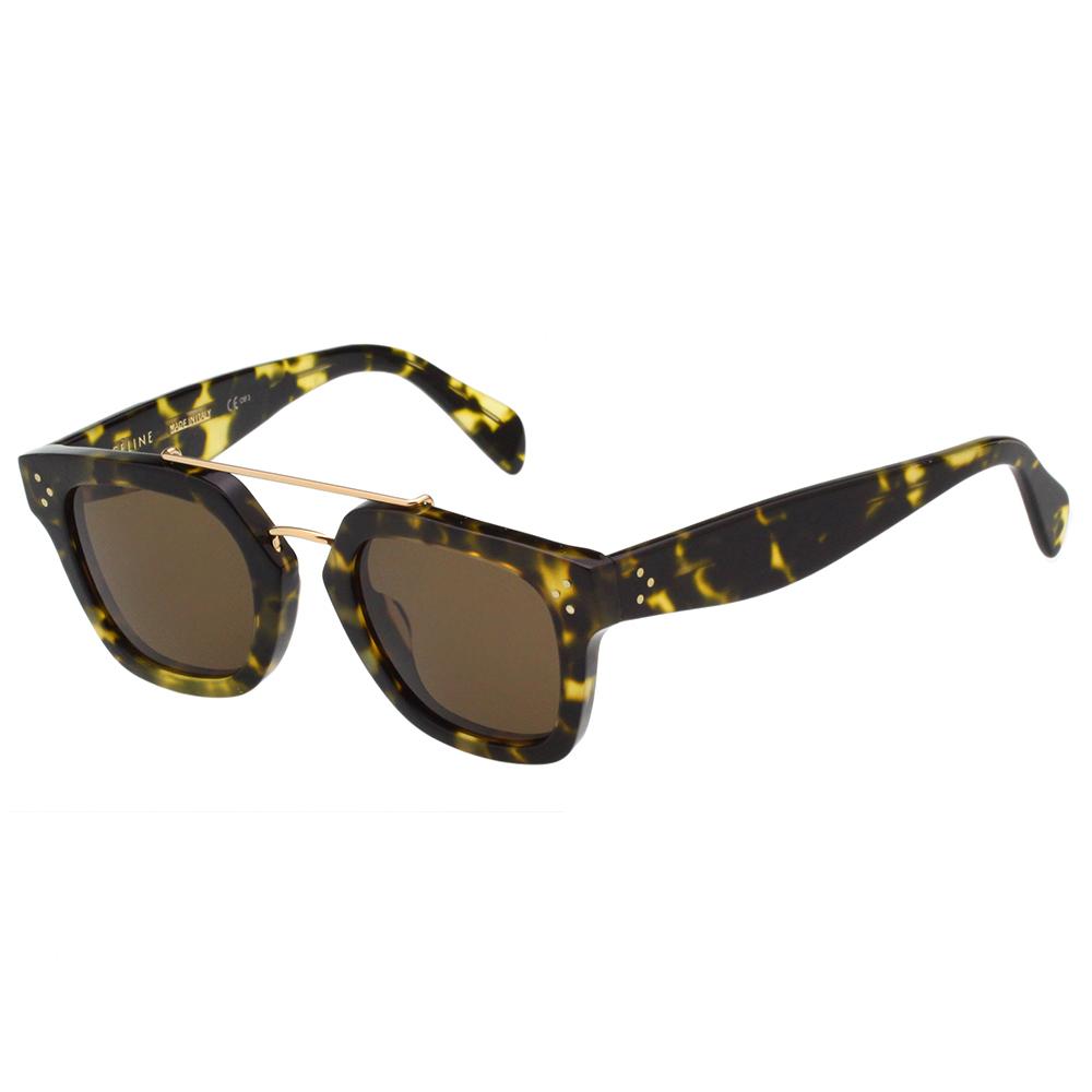 CELINE 率性 太陽眼鏡(琥珀色)CL41077S