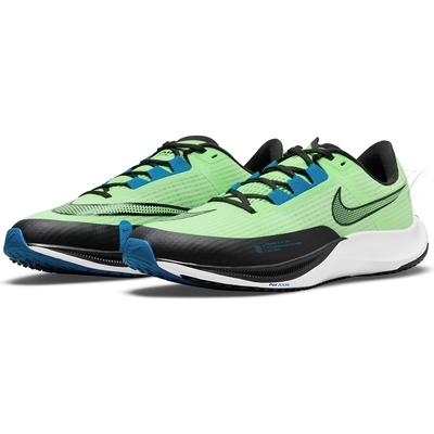 NIKE 運動鞋 男鞋 慢跑 緩震 AIR ZOOM RIVAL FLY 3 綠黑 CT2405300