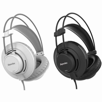 Superlux複合式材質頭戴式耳機HD672送百元耳機