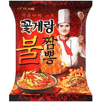 BINGGRAE 螃蟹造型餅乾-炒碼麵風味(70g)