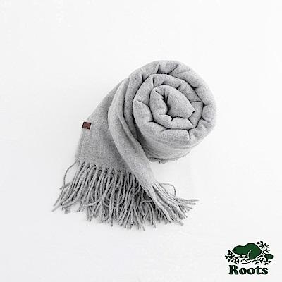 坎莫爾長條圍巾- 灰