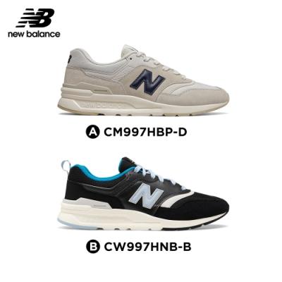 【時時樂限定】New Balance 997H復古鞋_米白/黑色