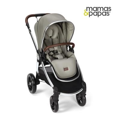 【Mamas & Papas】Ocarro 雙向手推車-淺灰綠(W2)
