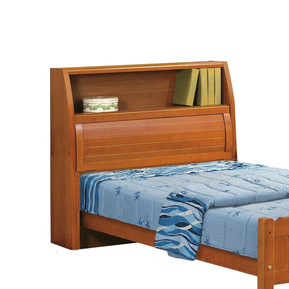 柏蒂家居-米堤3.5尺實木單人床頭箱