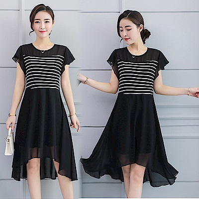 【韓國K.W.】輕鬆百搭一件搞定洋裝