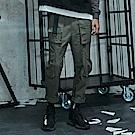 CACO-調節腰頭工作褲-情侶款(兩色)-男-【QNC024】