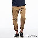 Nautica彈性修身輕薄休閒長褲-卡其