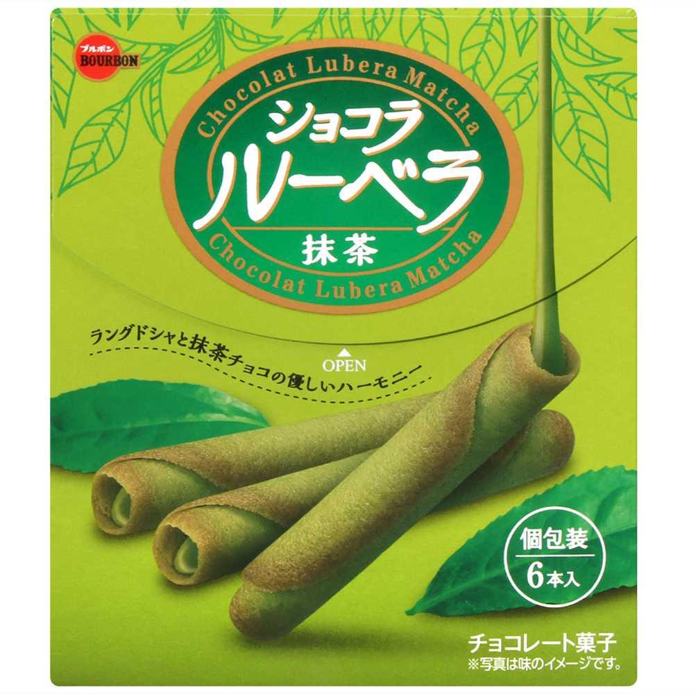 北日本 抹茶巧克力風味蛋捲(43.8g)