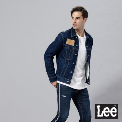 Lee 牛仔外套 101+復刻版 男 深藍