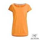 Arcteryx 始祖鳥 24系列 女 Ardena 短袖T恤 粉橘