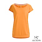 Arcteryx 始祖鳥 24系列 女 Ardena 有機棉 短袖T恤 粉橘