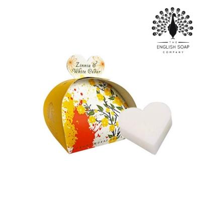 The English Soap Company 乳木果油植萃香氛皂-雪松百日草 Zinnia and White Cedar 60g