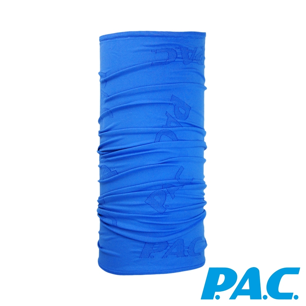 【PAC德國】SILVER COOL超彈力頭巾透氣快乾抗臭PAC8880008寶藍
