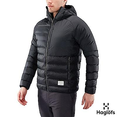 Haglofs 男 Dala Mimic 保暖化纖連帽外套 黑色