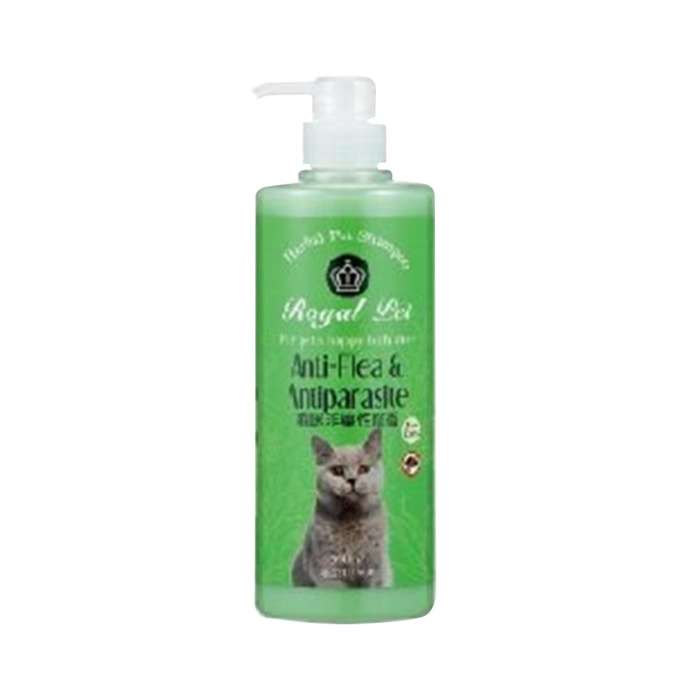 Royal Pet 皇家寵物《貓咪非藥性除蚤》洗毛精-500mlX2罐組