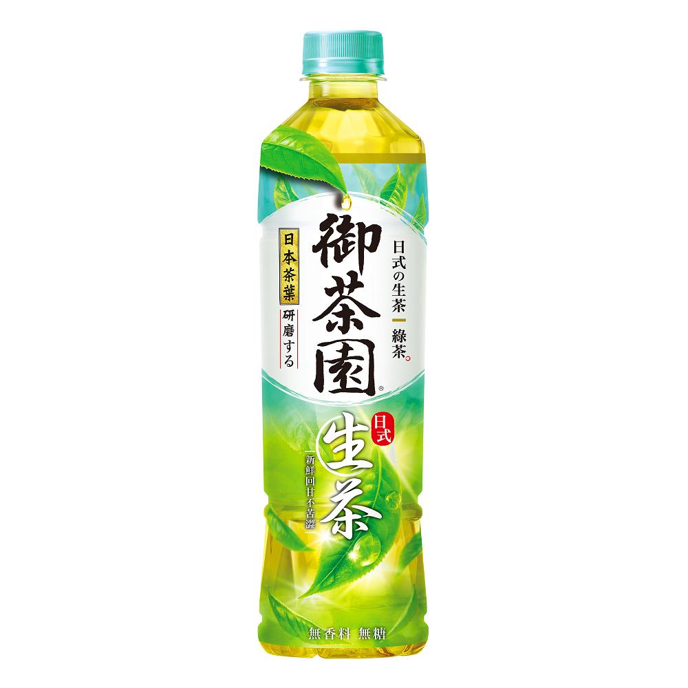 御茶園 日式生茶(550mlx24入)