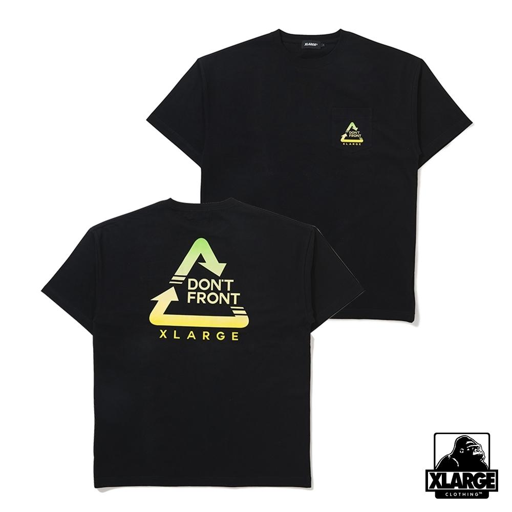 XLARGE S/S ALWAYS POCKET TEE短袖T恤-黑