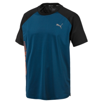PUMA-男性訓練系列Collective短袖T恤-直布羅陀海藍-歐規