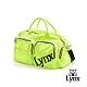【Lynx Golf】刺繡多袋設計旅行外袋/運動衣物袋-綠色