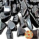 紅運當家 天然墨西哥彩虹黑曜碎石(淨重1000公克,粗顆粒)