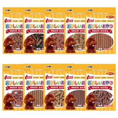 鮮雞道 軟性零食系列 80-110g (3包組)