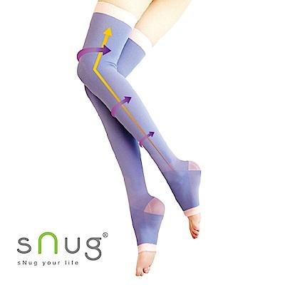 SNUG 越睡越美麗 睡眠美腿襪3入組-3色