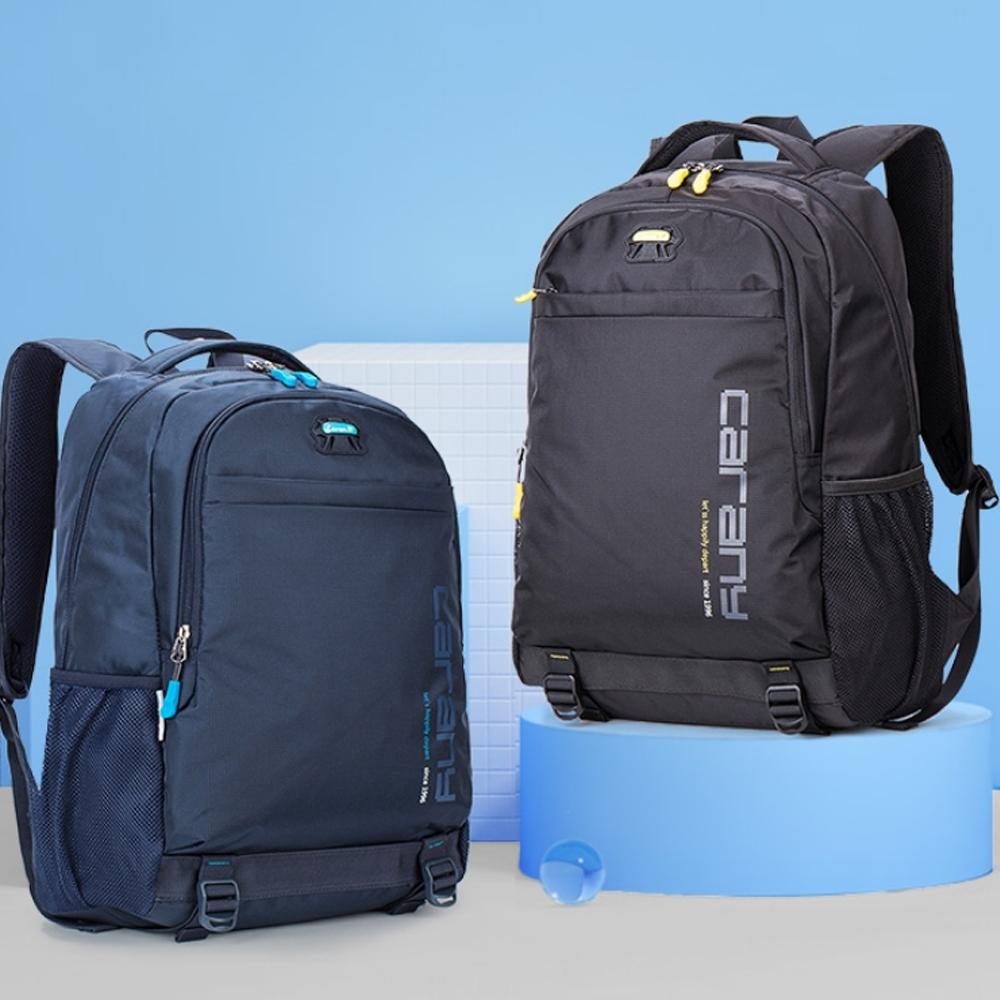 【優貝選】素面簡約率性多用途 學生背包 電腦包 差旅包 後背包