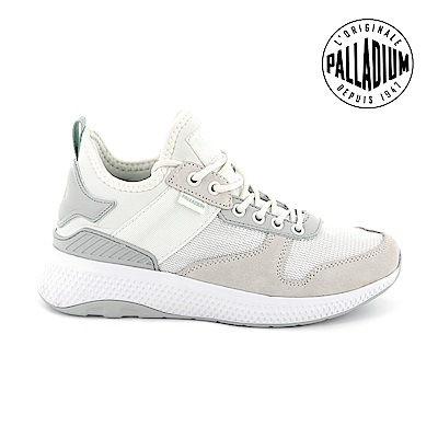 Palladium AX EON Army Runner復古慢跑鞋-女-白