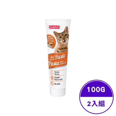 Beaphar樂透-成貓雙效營養膏 100g(2入組)