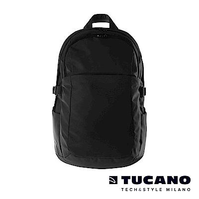 TUCANO BRAVO 15.6吋智能USB外接充電後背包-黑