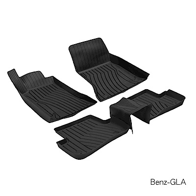 MIBO 米寶 魔形立體腳踏墊 Benz-GLA 2016~2018年5片式 黑色