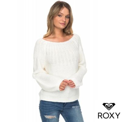 【ROXY】WINTER MOOD 針織衫 白色