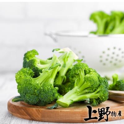 (烤肉任選899)上野物產 鮮採急凍 綠生花椰菜(1000g±10%/包)x1包