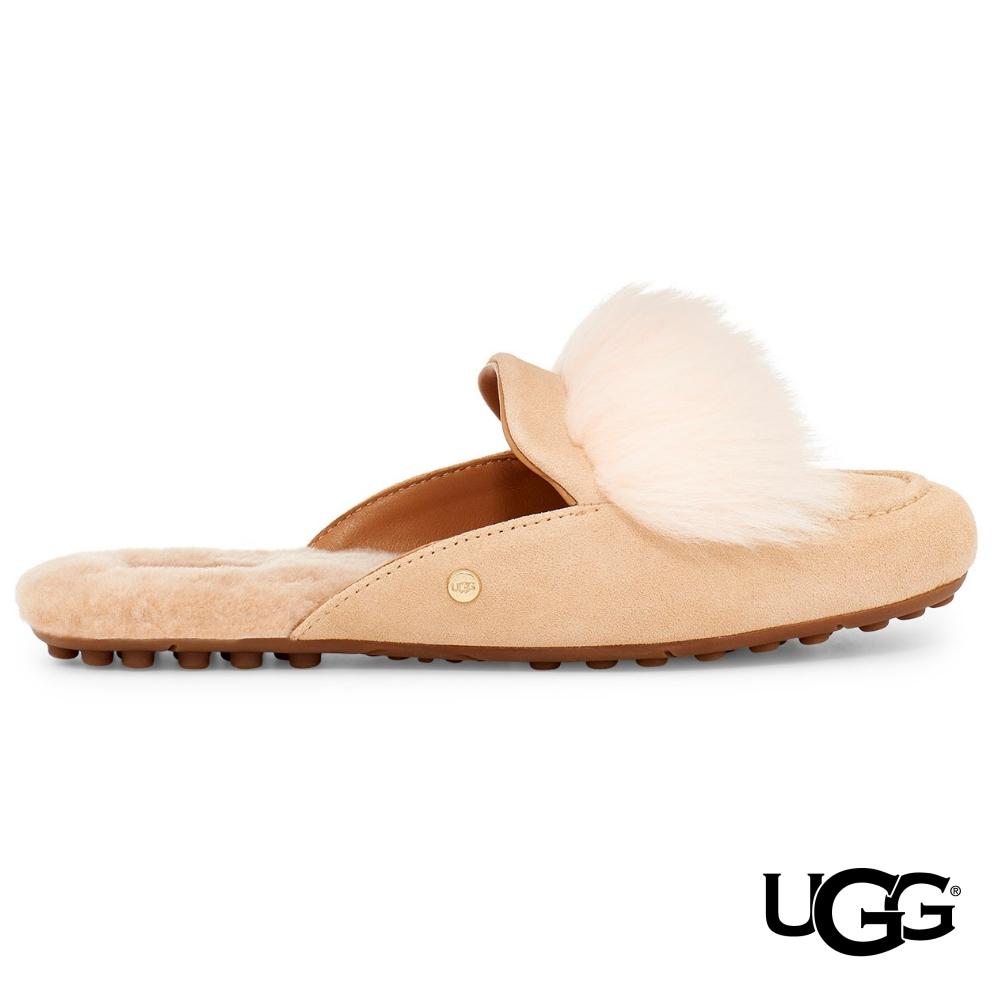UGG女士 SHAINE 絨毛休閒便鞋