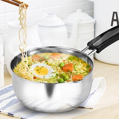 HIKARI日光生活-H160艾爾福特單把不鏽鋼湯鍋16cm