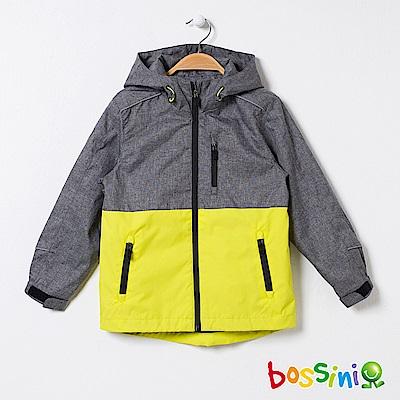 bossini男童-多功能百搭外套01亮黃