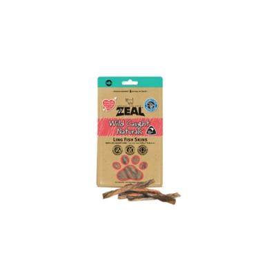ZEAL真致天然風乾零食-紐西蘭花膠鱈魚皮125g (ZE-AD-0134)(2包組)