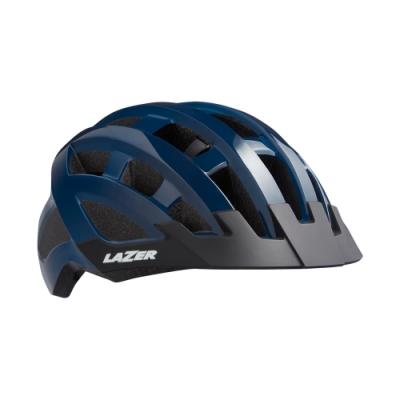 【LAZER】COMPACT 自行車安全帽 深藍