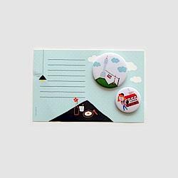 Hello首爾徽章及卡片-02 首爾塔