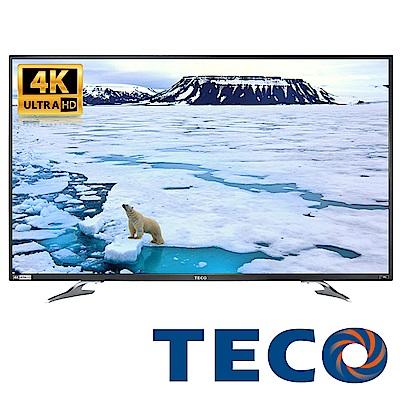 [無卡分期-12期]福利品-TECO東元43型4K液晶顯示器+視訊卡 TL43U1TRE