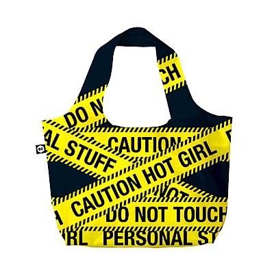 BG Berlin 摺疊環保袋-黃色警示