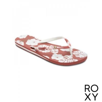 【ROXY】PORTOFINO III 拖鞋 紅色