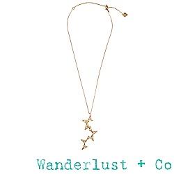 Wanderlust+Co超新星項鍊 - 金色