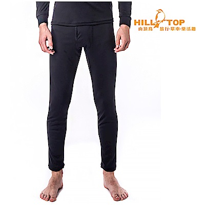 【hilltop山頂鳥】男款THERMOLITE保暖衛生褲H57M47黑美人
