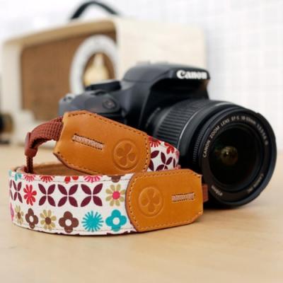 ICODE 幸運草彩色相機背帶 花色系列-8色可選