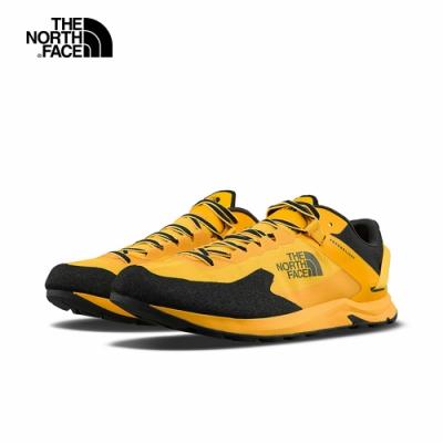 The North Face北面男款黃黑色防水透氣徒步鞋|4PFCZU3