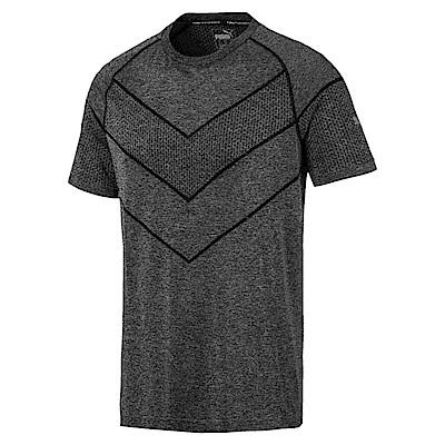 PUMA-男性訓練系列Reactive evoKNIT短恤-黑-歐規