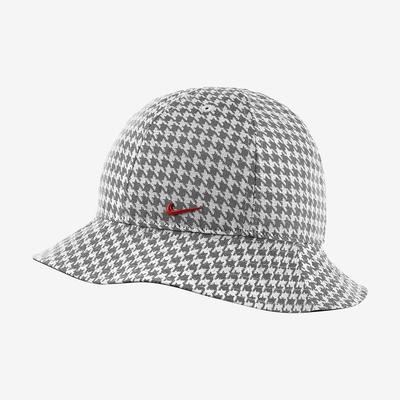 Nike BUCKET ICN CLSH 千鳥格 漁夫帽 -黑白-DJ6123010