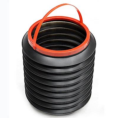 AI003 4L 不帶蓋 折疊收納箱 雜物收納筒 摺疊整理箱 水桶 伸縮水桶 伸縮筒 垃圾