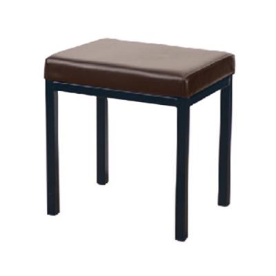H&D 咖啡色四方鐵椅